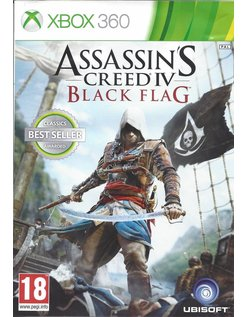 ASSASSIN'S CREED IV (4) BLACK FLAG for Xbox 360