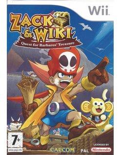 ZACK & WIKI QUEST FOR BARBAROS' TREASURE for Nintendo WiI