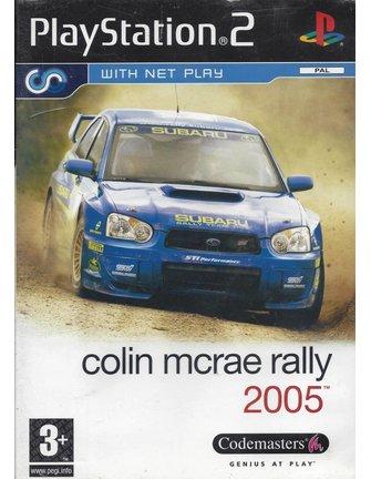 COLIN MCRAE RALLY 2005 voor Playstation 2 PS2