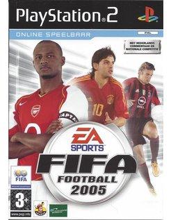 FIFA FOOTBALL 2005 voor Playstation 2 PS2