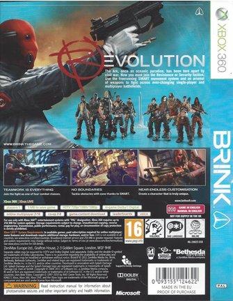 BRINK voor Xbox 360