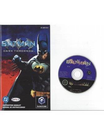 BATMAN DARK TOMORROW for Nintendo Gamecube