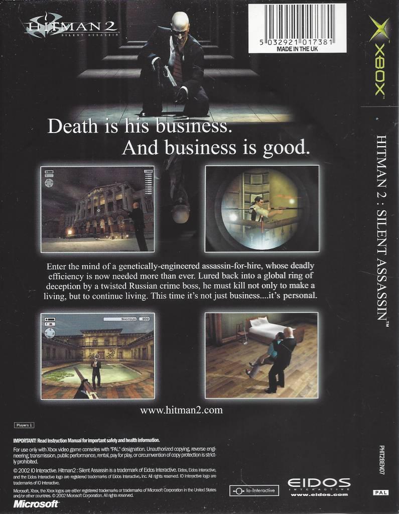 hitman 2 silent assassin gamecube