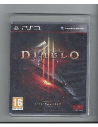 DIABLO III for Playstation 3 PS3 - NIEUW