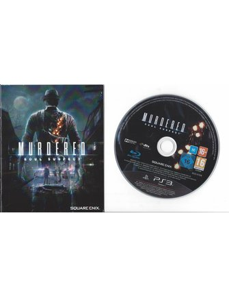 MURDERED SOUL SUSPECT for Playstation 3 PS3