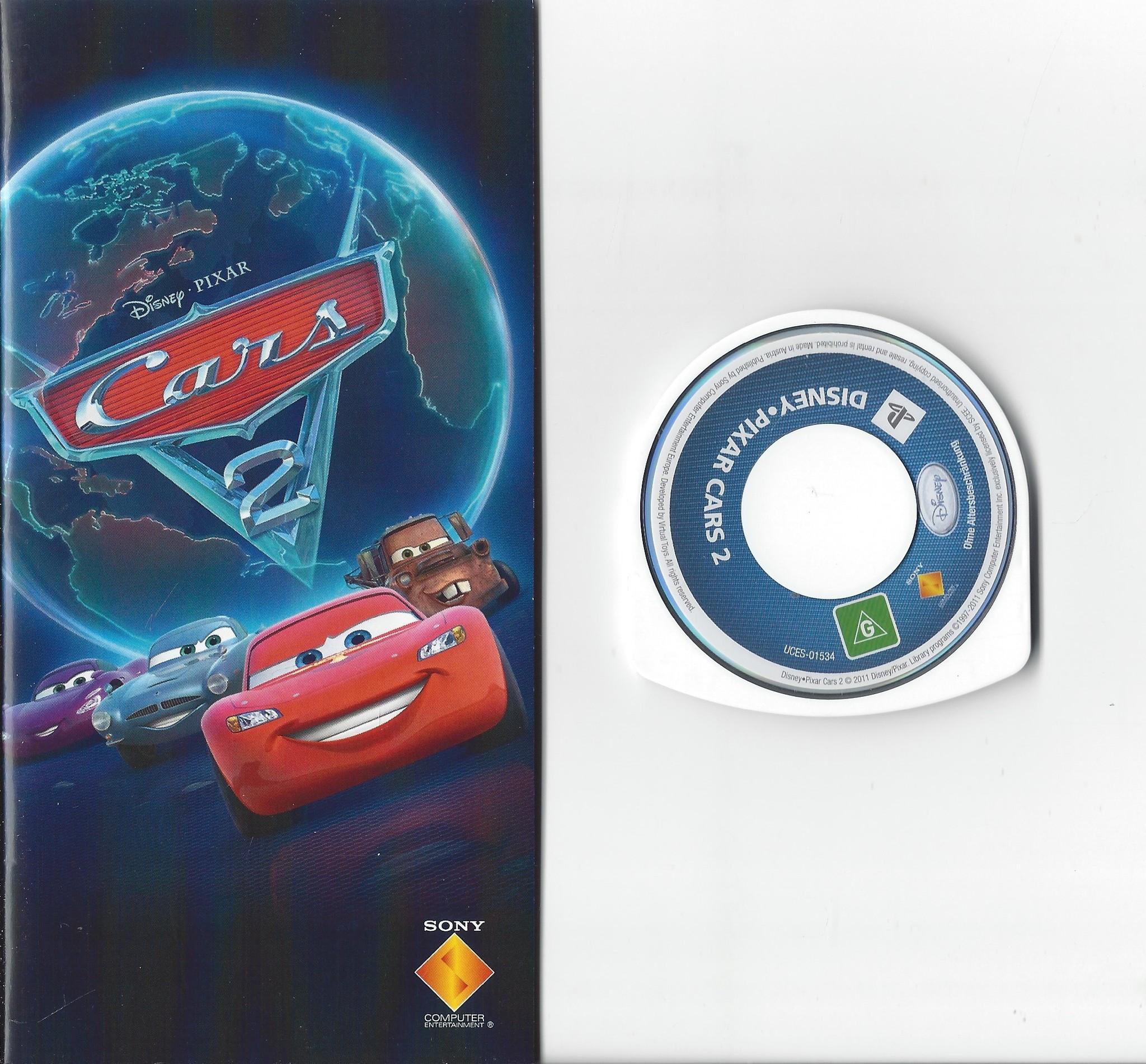 Disney Pixar Cars 2 For Playstation Portable Psp Passion For Games Webshop Passion For Games