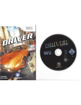 DRIVER PARALLEL LINES voor Nintendo Wii