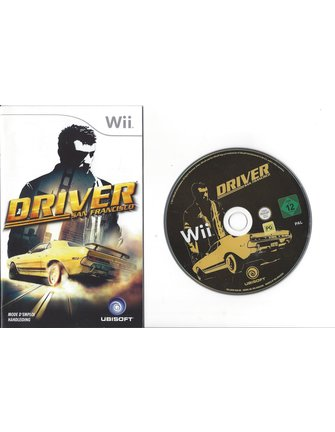 DRIVER SAN FRANCISCO for Nintendo Wii