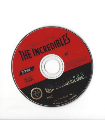 THE INCREDIBLES voor Nintendo Gamecube