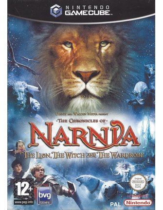 THE CHRONICLES OF NARNIA - THE LION, THE WITCH AND THE WARDROBE voor Gamecube