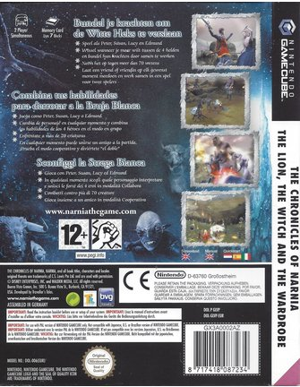 THE CHRONICLES OF NARNIA - THE LION, THE WITCH AND THE WARDROBE for GamecubeTHE CHRONICLES OF NARNIA - THE LION, THE WITCH AND THE WARDROBE voor Gamecube