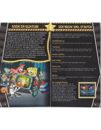 SPONGEBOB SQUAREPANTS LICHT UIT, CAMERA AAN voor Nintendo Gamecube