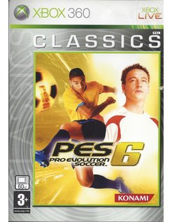 PRO EVOLUTION SOCCER 6 PES 6 voor Xbox 360