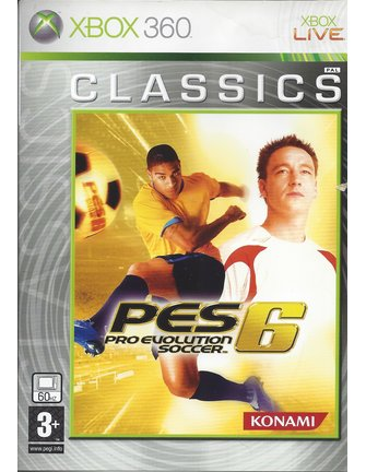 PRO EVOLUTION SOCCER 6 PES 6 voor Xbox 360