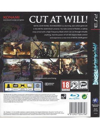 METAL GEAR RISING REVENGEANCE für Playstation 3 PS3