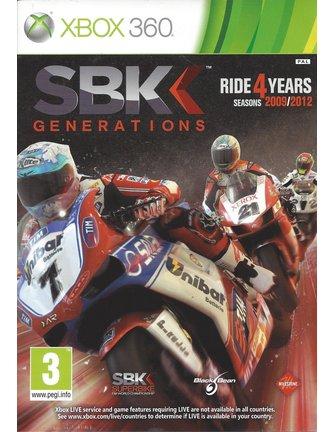 SBK GENERATIONS voor Xbox 360