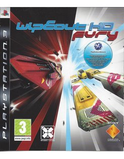 WIPEOUT HD FURY voor Playstation 3