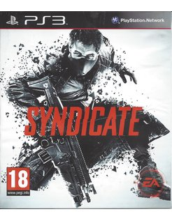 SYNDICATE for Playstation 3 PS3