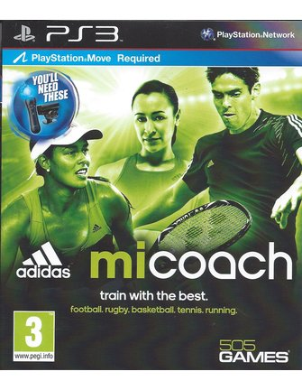 ADIDAS MICOACH for Playstation 3 PS3