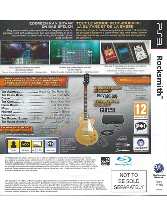 ROCKSMITH  for Playstation 3 PS3