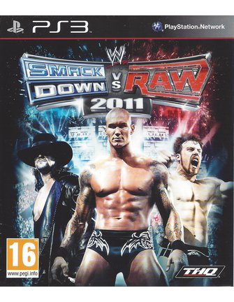 WWE SMACKDOWN VS RAW 2011 for Playstation 3 PS3