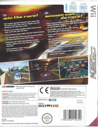 CRUIS'N for Nintendo Wii