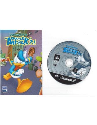 DONALD DUCK QUACK ATTACK voor Playstation 2 PS2