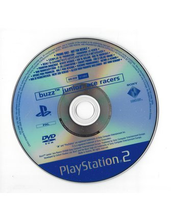 BUZZ JUNIOR CRAZY RACERS (ACE RACERS) voor Playstation 2 PS2