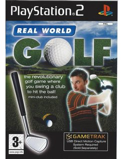 GAMETRAK REAL WORLD GOLF for Playstation 2 PS2
