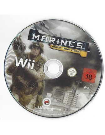 MARINES MODERN URBAN COMBAT for Nintendo Wii