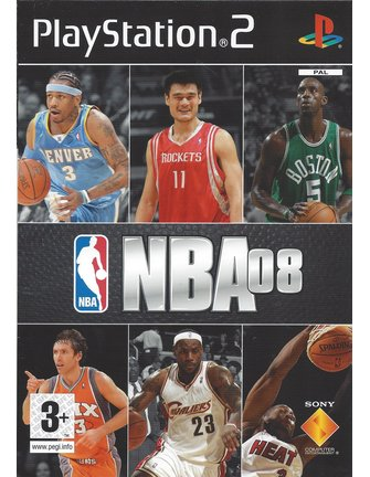 NBA 08 für Playstation 2 PS2