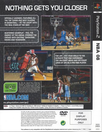 NBA 08 for Playstation 2 PS2
