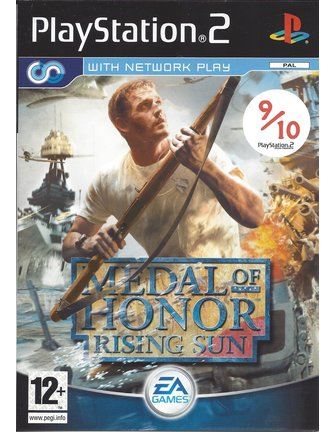 MEDAL OF HONOR RISING SUN voor Playstation 2 PS2