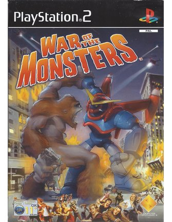 WAR OF THE MONSTERS voor Playstation 2 PS2