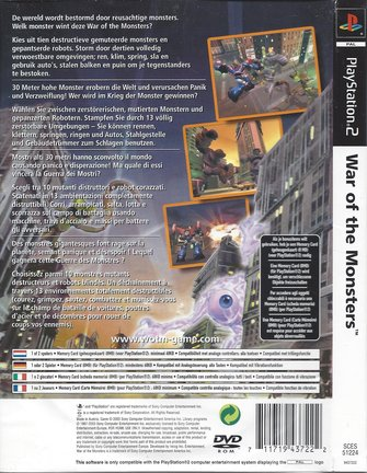 WAR OF THE MONSTERS for Playstation 2 PS2
