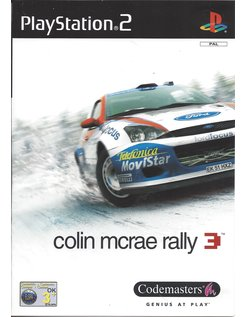 COLIN MCRAE RALLY 3 voor Playstation 2 PS2