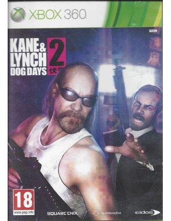 KANE & LYNCH 2 DOG DAYS voor Xbox 360