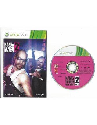 KANE & LYNCH 2 DOG DAYS für Xbox 360