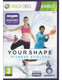 YOUR SHAPE FITNESS EVOLVED voor Xbox 360 Kinect