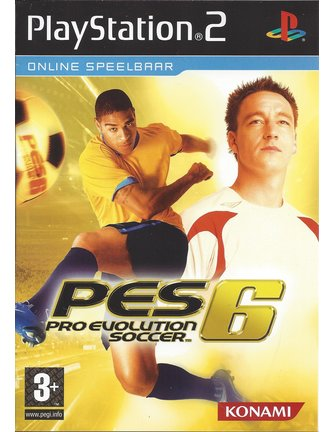 PRO EVOLUTION SOCCER 6 PES 6 for Playstation 2 PS2