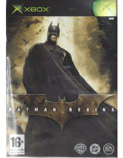 BATMAN BEGINS für Xbox