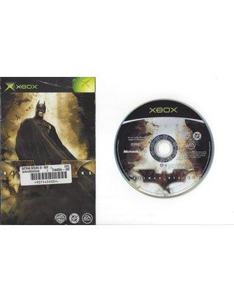 BATMAN BEGINS voor Xbox