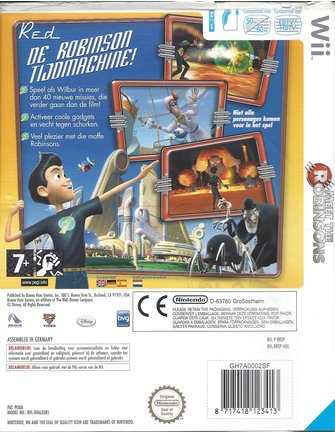 MEET THE ROBINSONS for Nintendo Wii