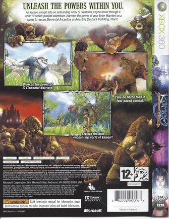 KAMEO ELEMENTS OF POWER voor Xbox 360