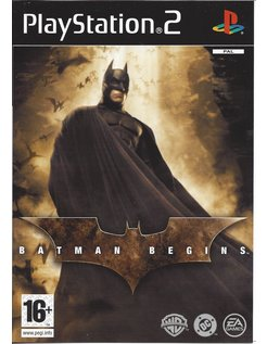 BATMAN BEGINS voor Playstation 2 PS2