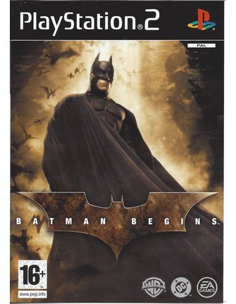 BATMAN BEGINS für Playstation 2 PS2
