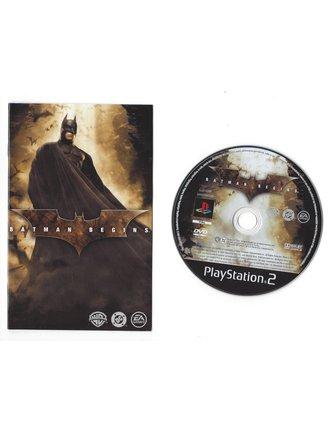 BATMAN BEGINS voor Playstation 2 PS2