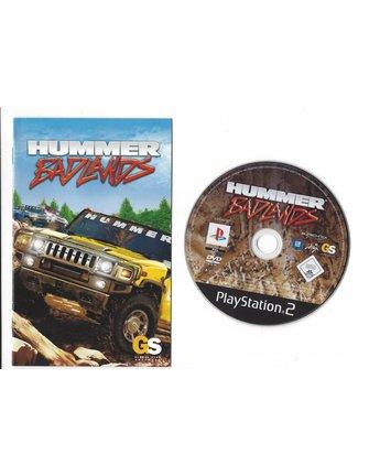 HUMMER BADLANDS voor Playstation 2 PS2