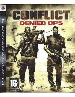CONFLICT DENIED OPS voor Playstation 3