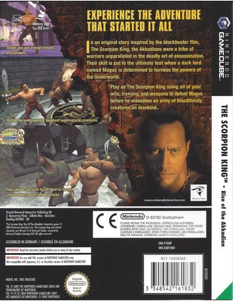 THE SCORPION KING - RISE OF THE AKKADIAN for Nintendo Gamecube